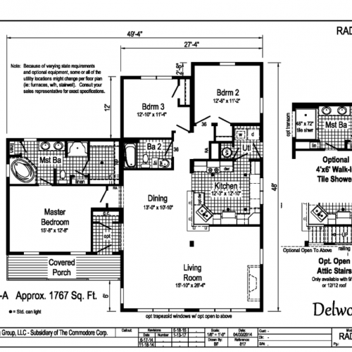 Delwood Floor Plan