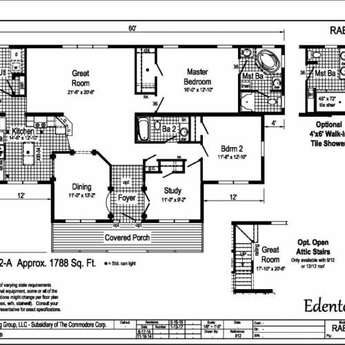 Edenton Floor Plan