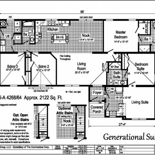 Generational Suite Floor Plan