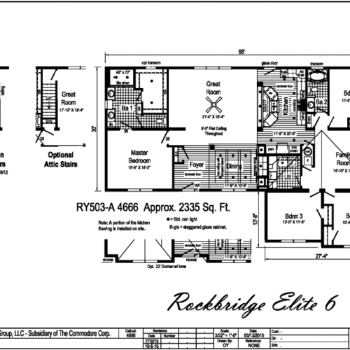 Rockbridge Elite 6 Floorplan