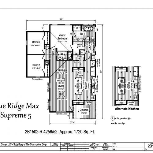 MAX 5 floor plan