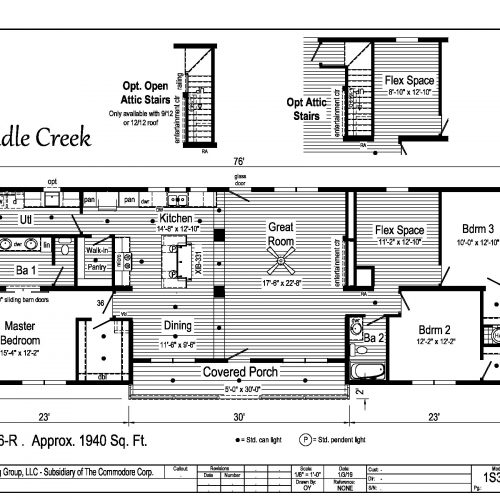 Saddle Creek floor plan