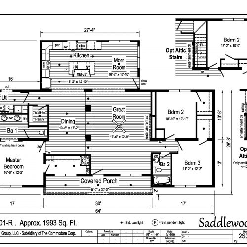 Saddlewood floor plan