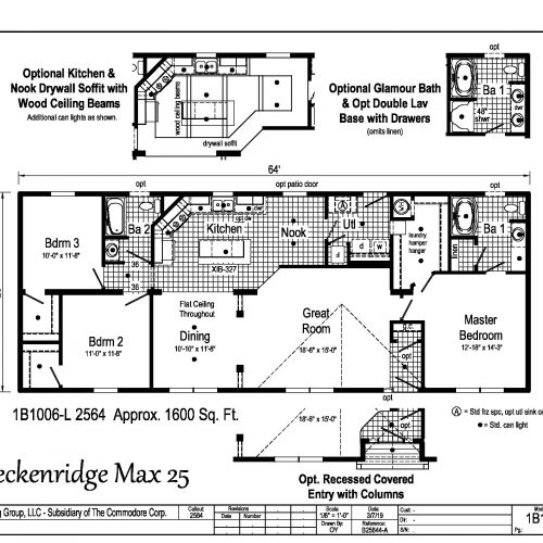 breckenridge max 25 floor plan