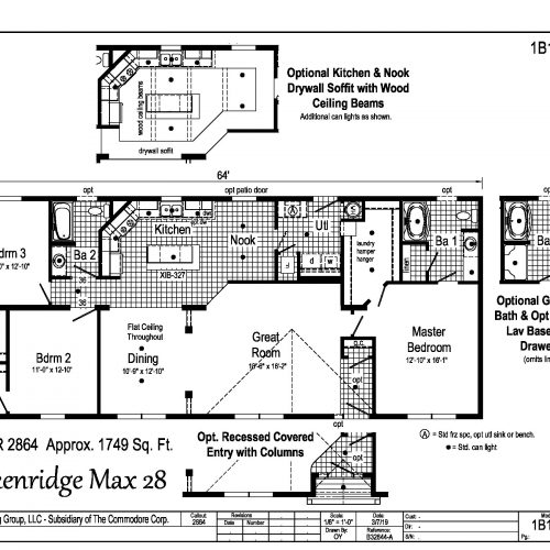breckenridge max 28 floor plan