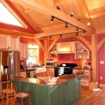 Timber frame kitchens and dining rooms in North and South Carolina, by Carolina Diversified Builders
