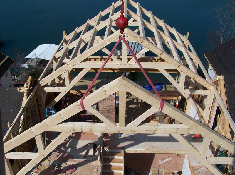 Turnkey timber frame home construction in North and South Carolina, by Carolina Diversified Builders.