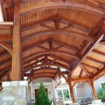 Timber frame structures in North and South Carolina, by Carolina Diversified Builders.